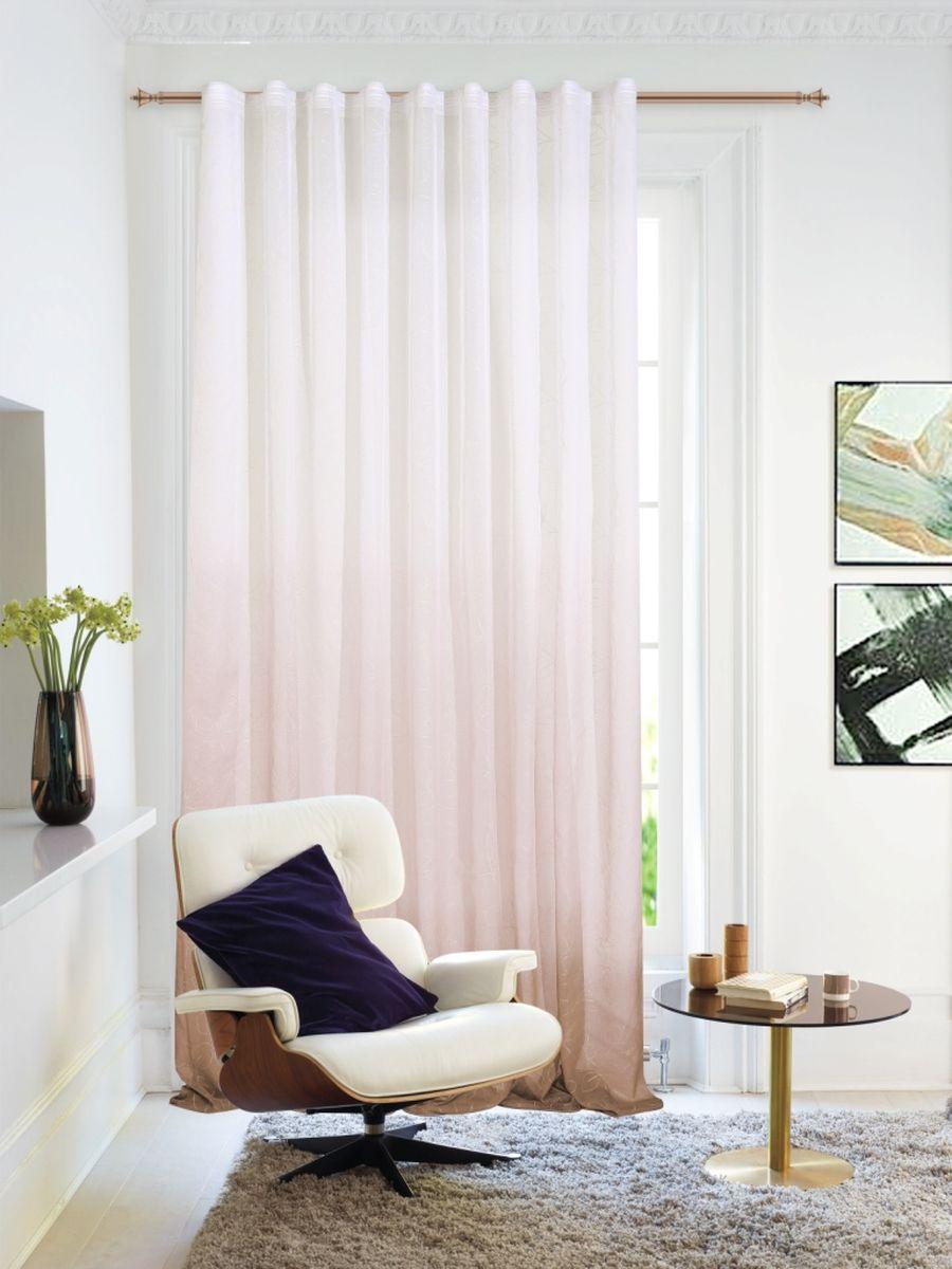 Изящная тюлевая штора для гостиной Garden, выполнена из легкой ткани с оригинальным узором. Приятная текстура и цвет привлекут к себе внимание и органично впишутся в интерьер помещения. Изделие крепится на карниз при помощи ленты, которая поможет красиво и равномерно задрапировать верх.