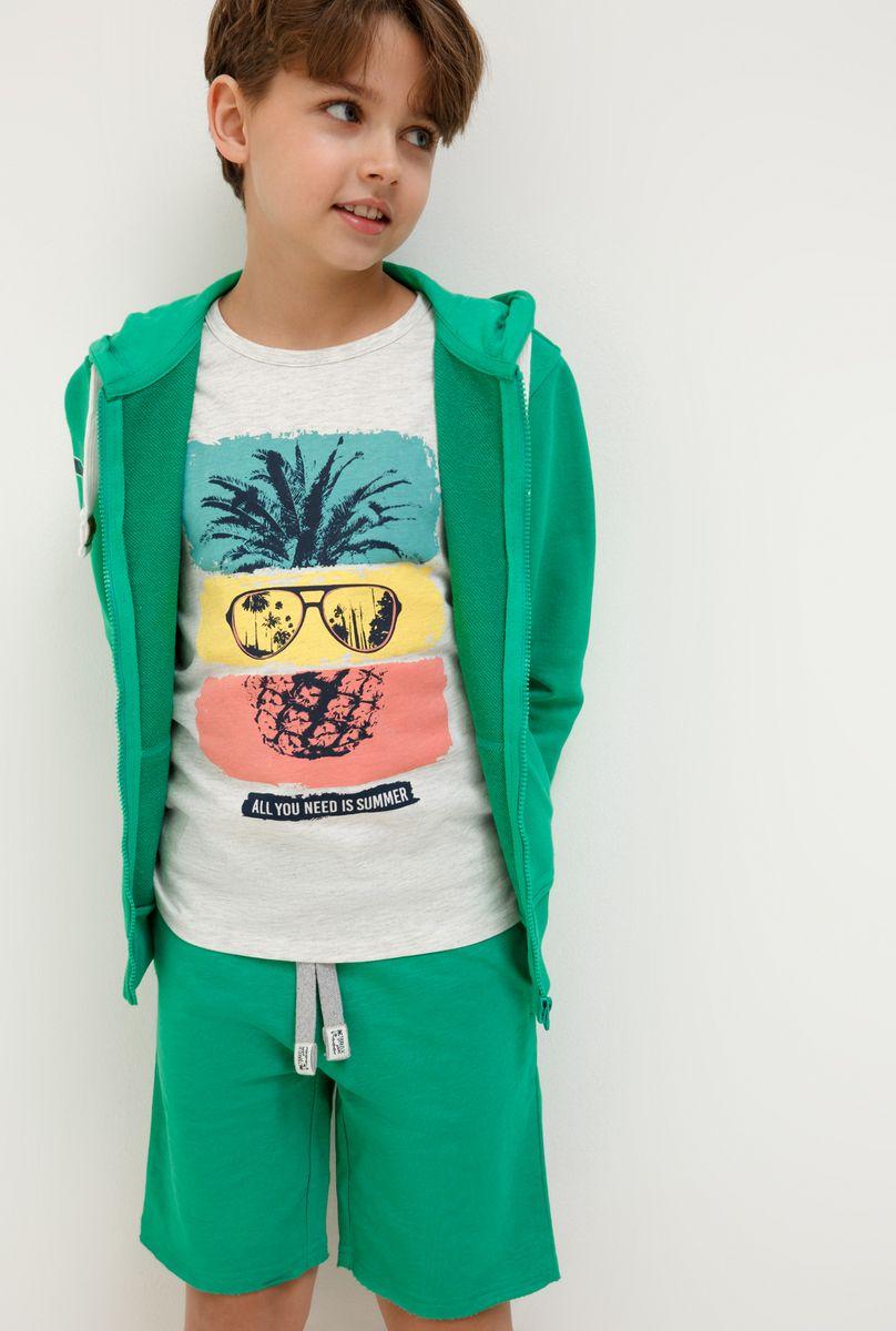 Шорты для мальчика Acoola Swift, цвет: зеленый. 20110420029_2300. Размер 140 футболка для мальчика acoola carroll цвет зеленый 20120110113 2300 размер 122