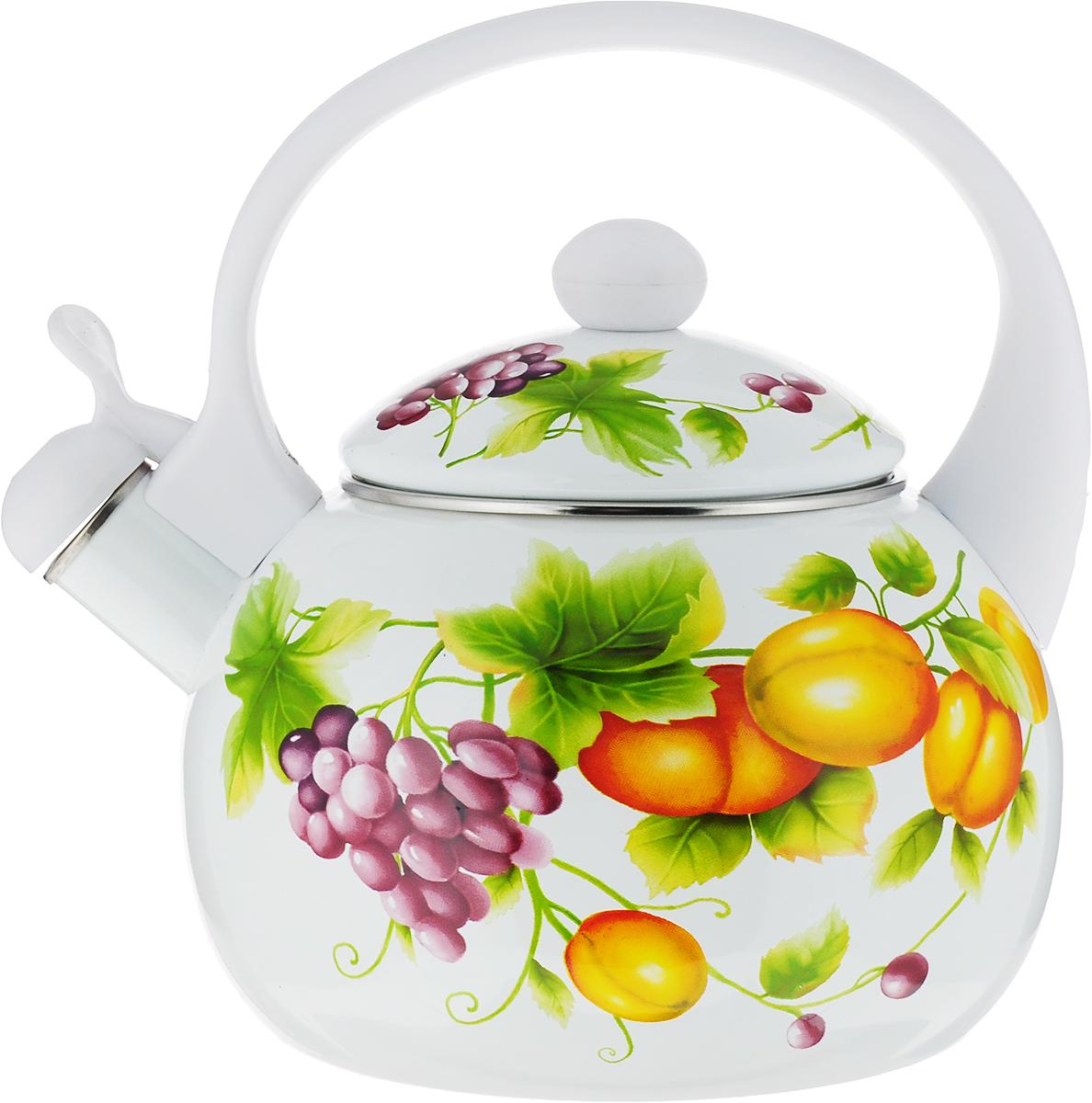 Чайник со свистком Wellberg Bethany, 2,2 л. 3413WB