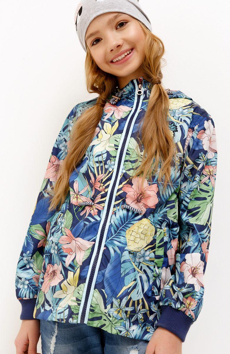 Куртка для девочки Acoola, цвет: темно-синий. 20220130130_600. Размер 98 acoola kids шорты для мальчиков трикотажные с набивным принтом