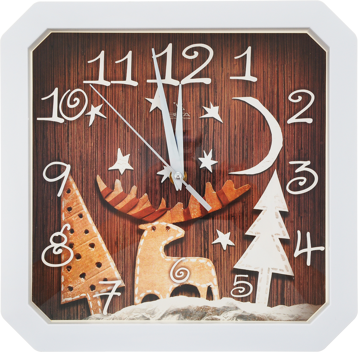 Часы настенные Вега Скандинавские кронштейн kromax vega 50 белый