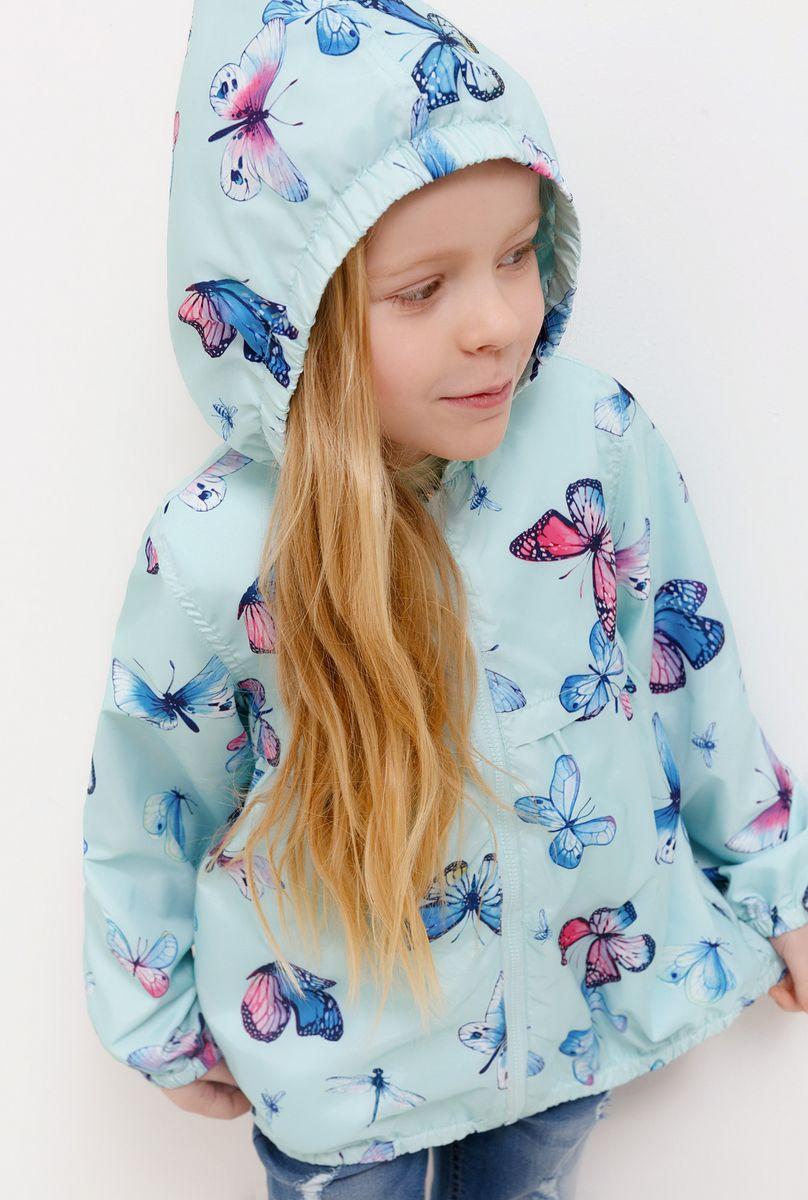Куртка для девочки Acoola, цвет: голубой. 20220130129_400. Размер 116 smeg s890amro9