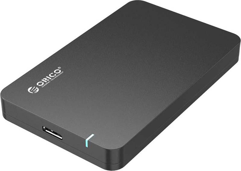 Orico 2569S3, Black контейнер для HDD orico 2599us3 tool free usb 3 0 2 5 inch sata hdd enclosure
