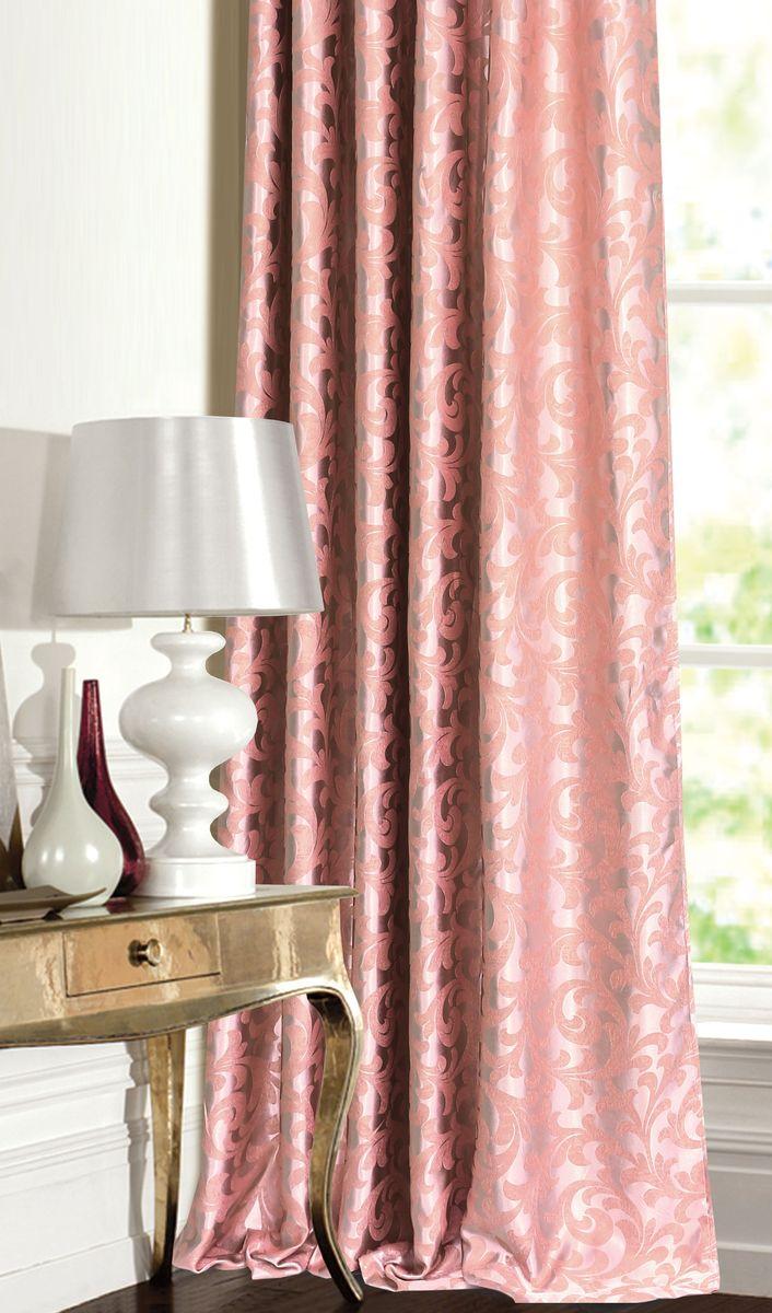 Штора для гостиной Garden выполнена из ткани жаккард блэкаут. Приятная текстура и цвет, привлекут к себе внимание и органично впишутся в интерьер помещения. Штора крепится на карниз при помощи ленты, которая поможет красиво и равномерно задрапировать верх.