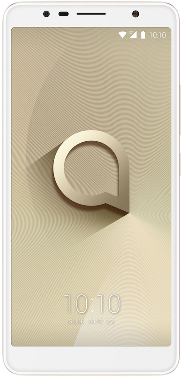 Alcatel 5026D 3C, White Gold