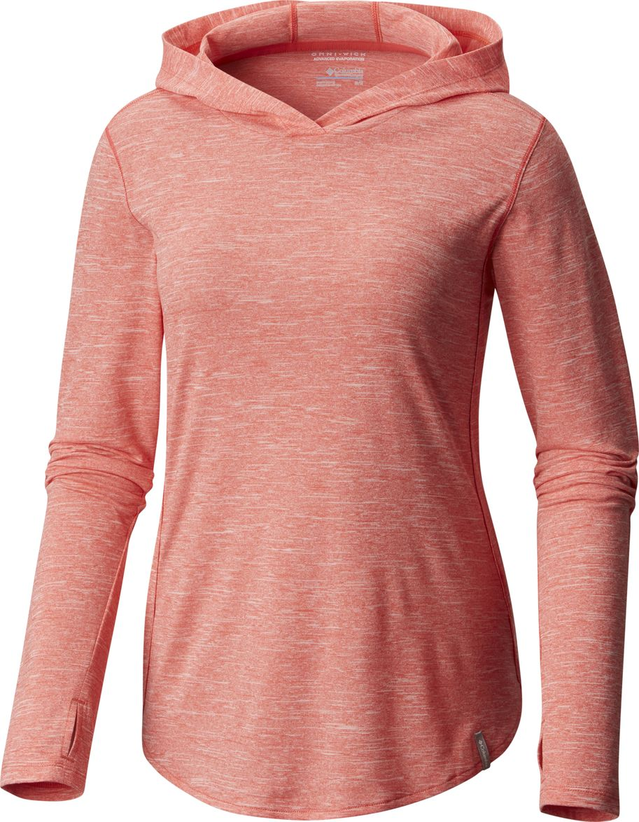 Худи женское Columbia Crystal Point Hoodie, цвет: розовый. 1724121-614. Размер XS (42) angie queen 1b 16 16 18