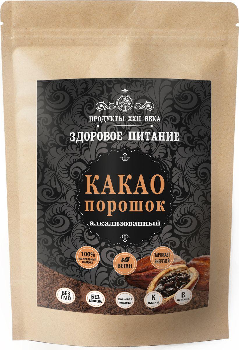 Продукты ХХII века какао порошок алкализованный, 200 г