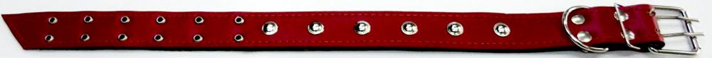 Ошейник для собак КИТ-Ammunition, с украшениями, №46. 460118460118Ошейник №46 из натуральной кожи на брезенте с украшениями