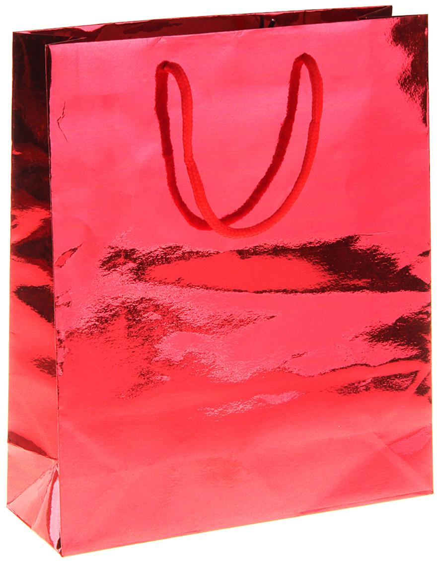 Пакет подарочный Рисунок. Однотонный, голографический, цвет: красный, 23 х 8 х 27 см. 822502822502Любой подарок начинается с упаковки. Что может быть трогательнее и волшебнее, чем ритуал разворачивания полученного презента. И именно оригинальная, со вкусом выбранная упаковка выделит ваш подарок из массы других. Она продемонстрирует самые теплые чувства к виновнику торжества и создаст сказочную атмосферу праздника. Пакет голографический - это то, что вы искали.