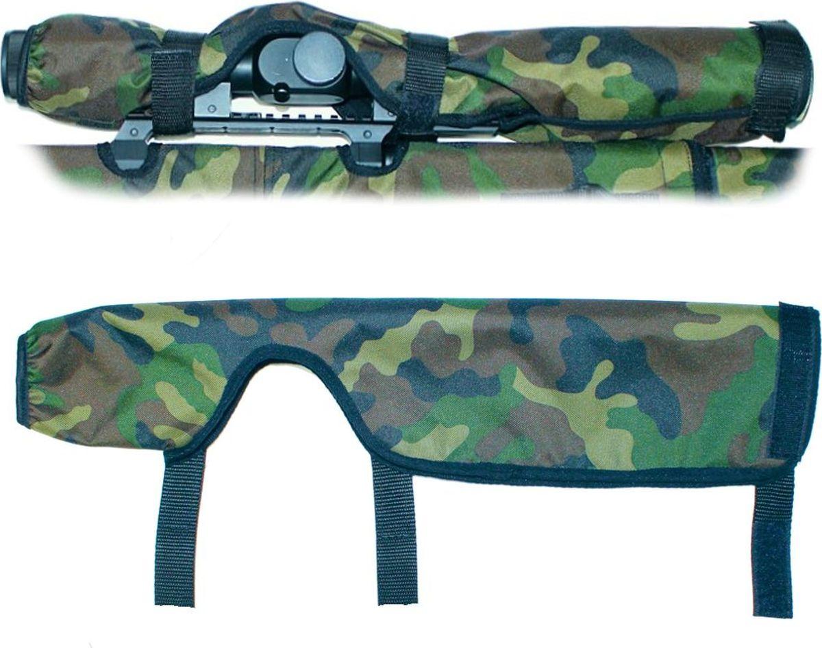 Чехол на прицел Tplus, Oxford 600, цвет: камуфляж, 500 мм