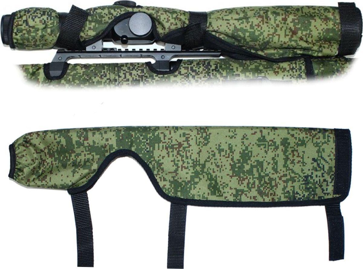 Чехол на прицел Tplus, Oxford 600, цвет: камуфляж, 400 ммT002379Предназначен для защиты анокса прицела, имеет подклад из флиса.