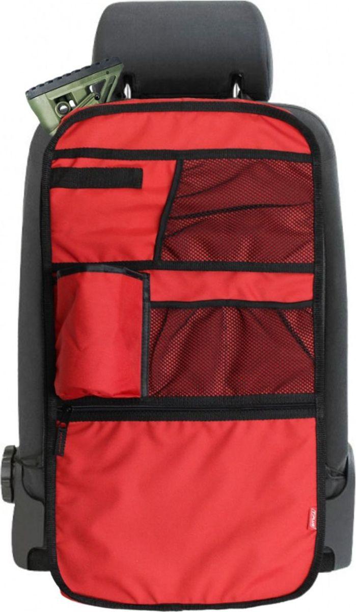 Органайзер на сидение для оружия Tplus, Oxford 600, цвет: красный, 62 х 5 х 33 см