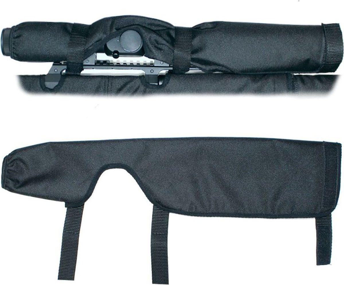 Чехол на прицел Tplus, Oxford 600, цвет: черный, 300 ммT008197Предназначен для защиты анокса прицела, имеет подклад из флиса.