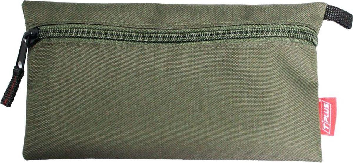 Футляр для хранения Tplus, Oxford 600, цвет: оливковый, 13 x 23 см