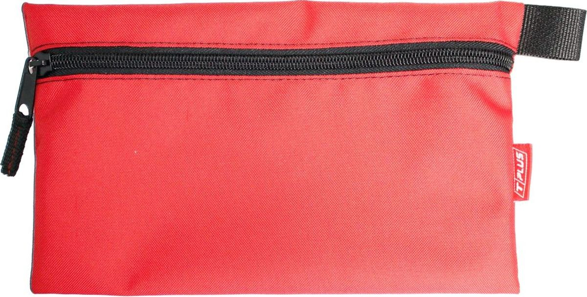 Футляр для хранения Tplus, Oxford 600, цвет: красный, 16 x 26 см