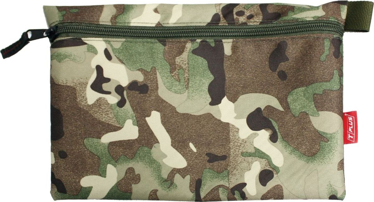 Футляр для хранения Tplus, Oxford 600, цвет: мультиколор, 19 x 29 см сумка рыбака tplus 600 цвет олива 36 x 20 x 20 см