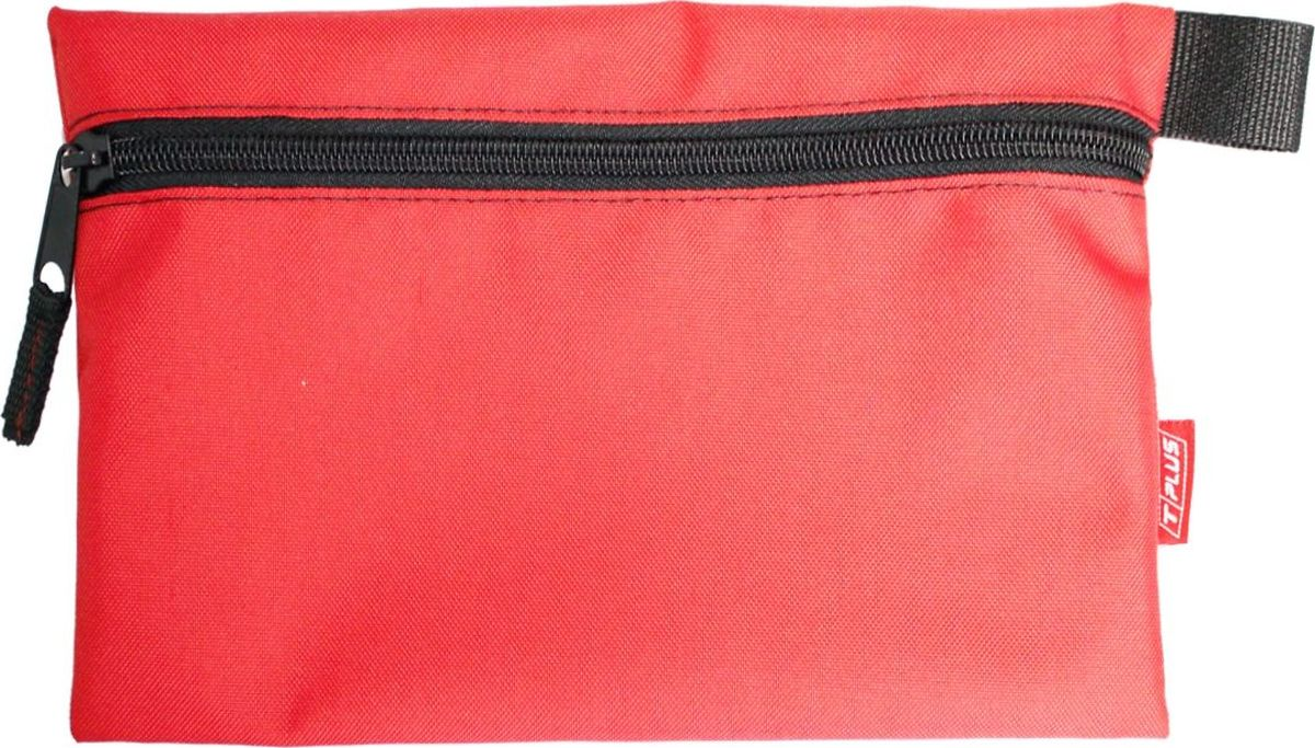 Футляр для хранения Tplus, Oxford 600, цвет: красный, 19 x 29 см