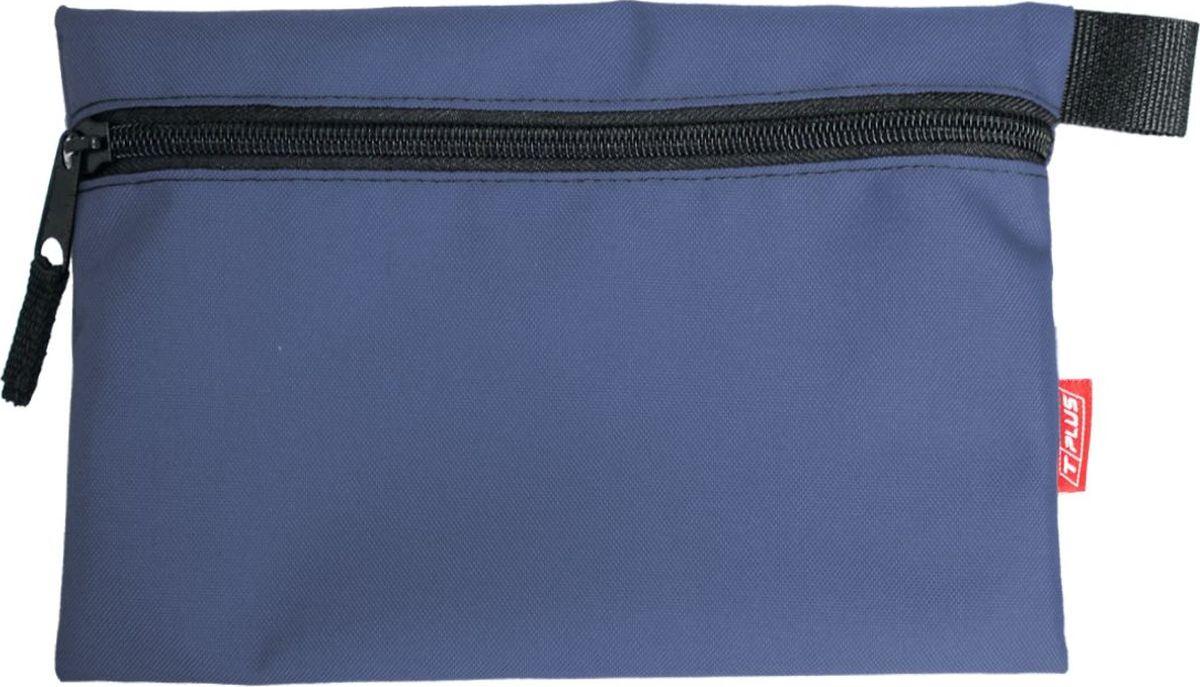 Футляр для хранения Tplus, Oxford 600, цвет: синий, 19 x 29 см сумка рыбака tplus 600 цвет олива 36 x 20 x 20 см