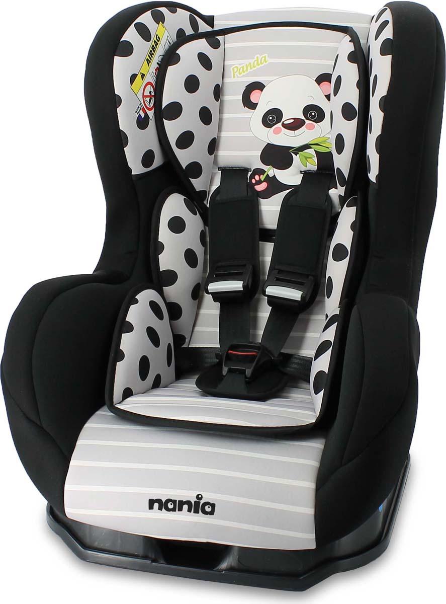 Nania Автокресло Cosmo SP Panda цвет серый от 0 до 18 кг