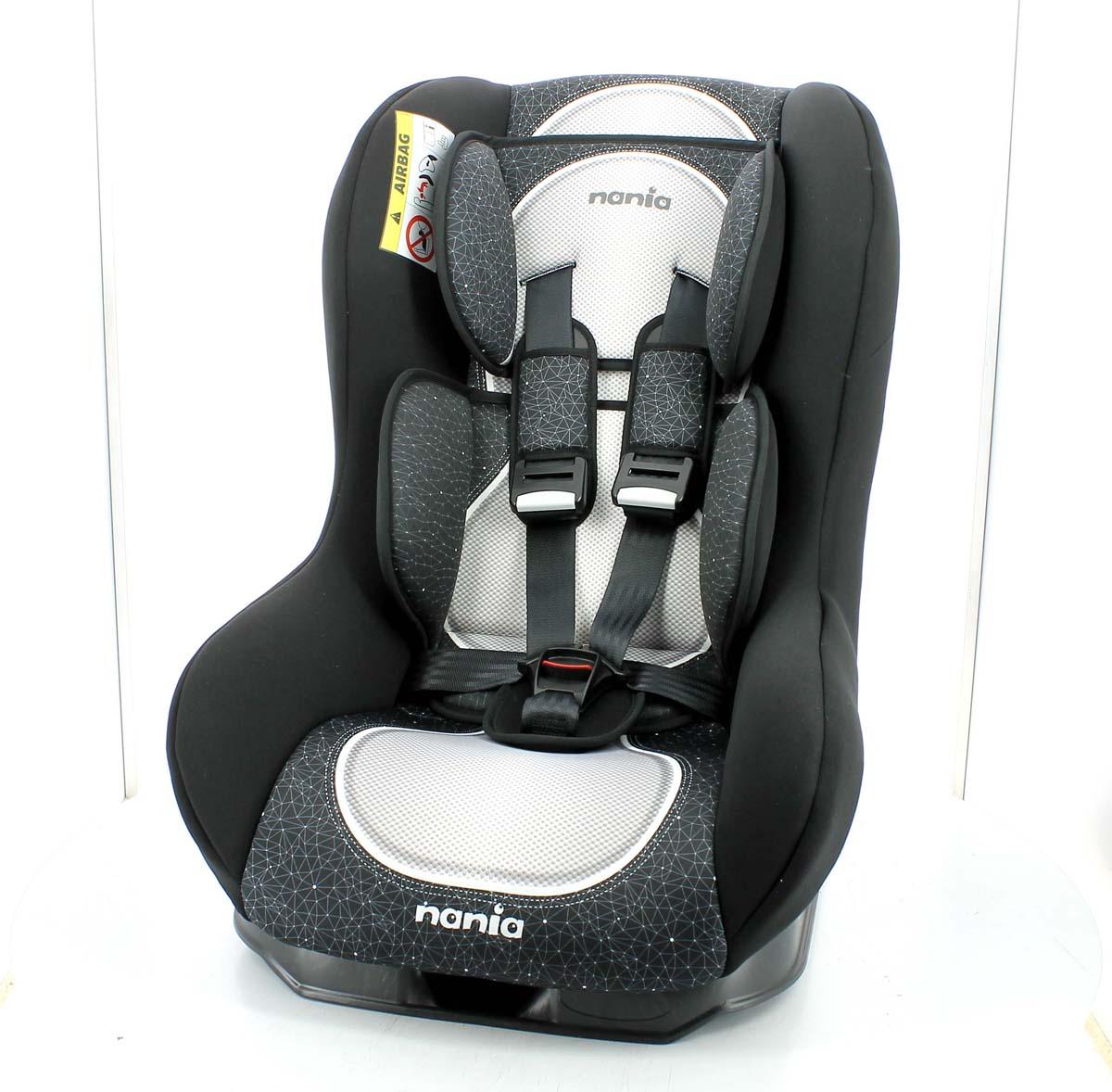 Nania Автокресло Driver FST Skyline цвет черный от 0 до 18 кг