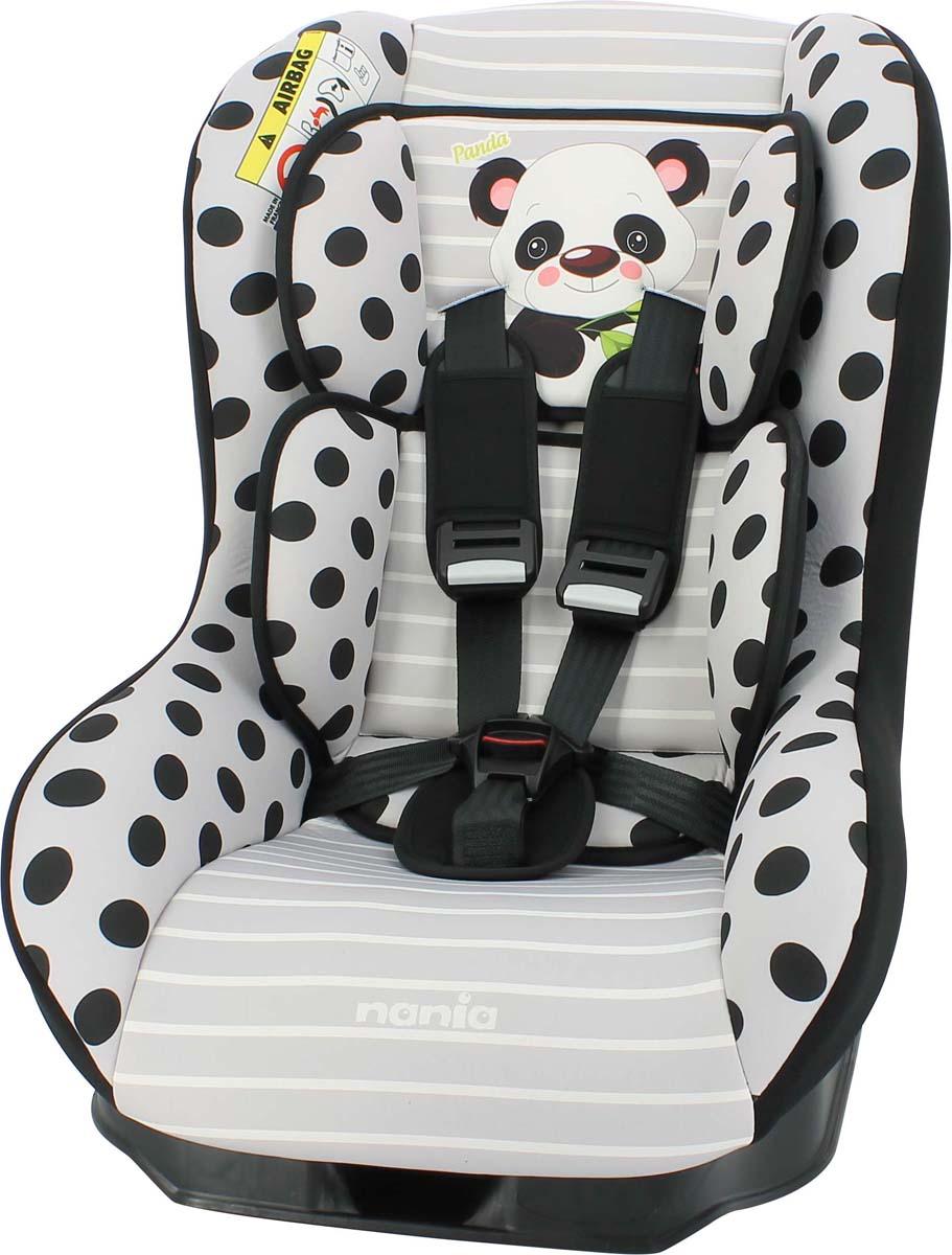 Nania Автокресло Driver Panda цвет серый от 0 до 18 кг