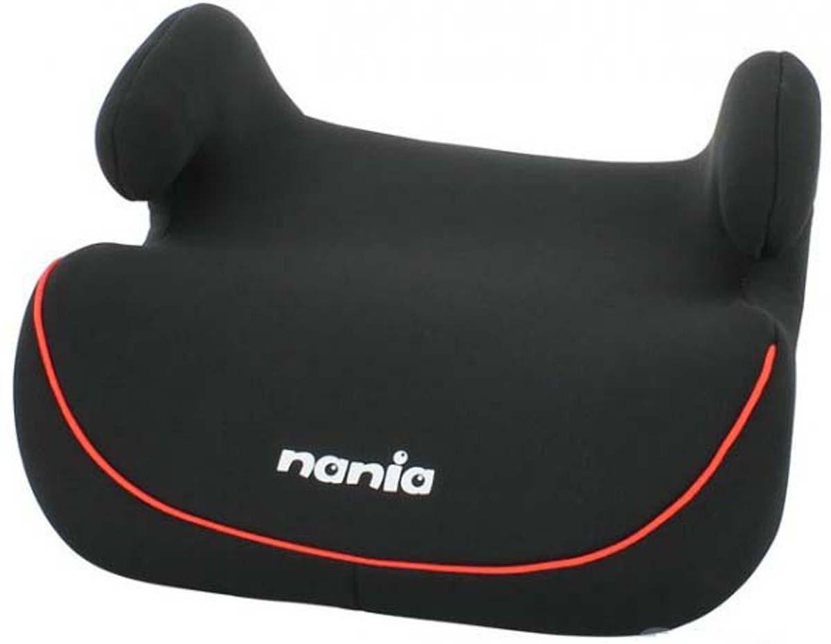 Nania Автокресло Topo Comfort Eco цвет черный красный от 15 до 36 кг. авто бустер детский nania topo eco rock grey от 15 до 36 кг 2 3 серый черный 227950