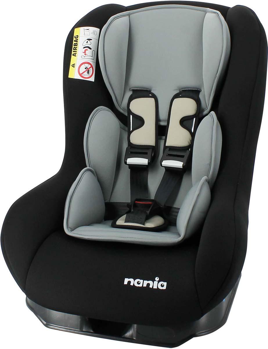 Nania Автокресло Maxim Eco цвет черный от 0 до 18 кг автокресло nania maxim eco smoke