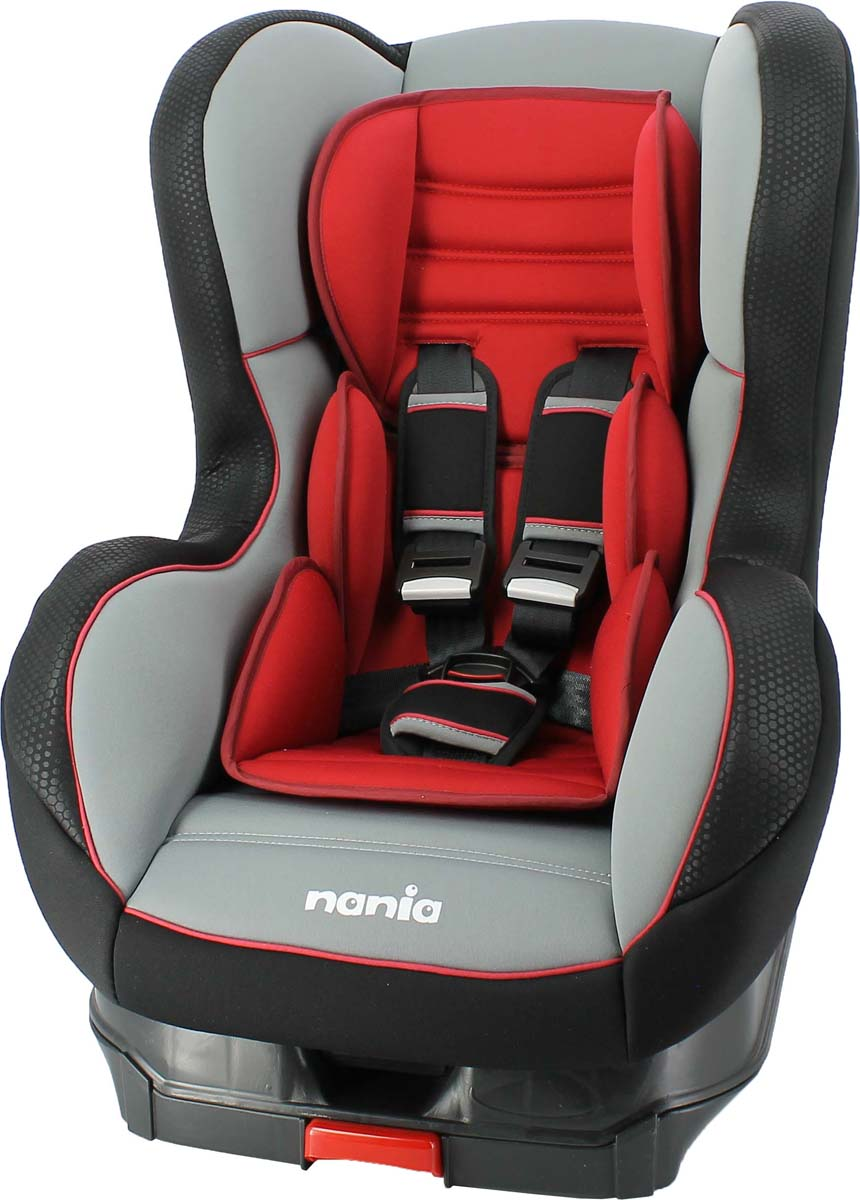 Nania Автокресло Cosmo SP LX Isofix Rouge от 0 до 18 кг, Team Tex