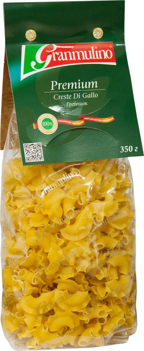 Granmulino-Premium гребешок №58, 350 г макаронные изделия molisana ракушки рифленые гигант 500г