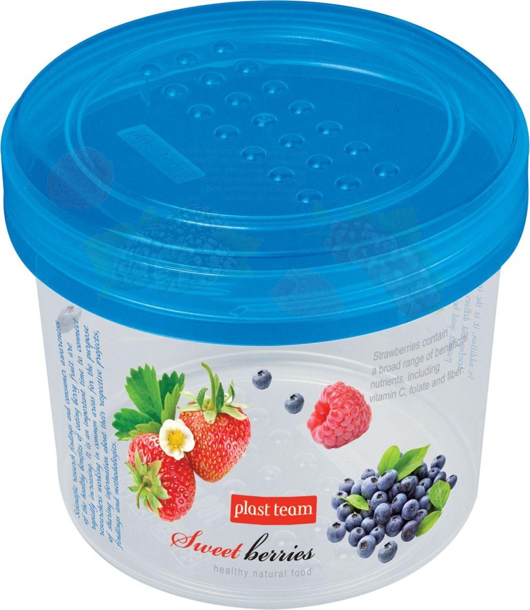 Банка для сыпучих продуктов Plast Team Berry, 0,7 лPT1128IMLНАТ-BE-12PNЛегкая, прочная банка с закручивающейся крышкой предназначена для хранения продуктов, заморозки, разогревания в СВЧ, переноски обедов. Конструктивное решение крышки и дна банки обеспечивает надежную установку друг на друга при хранении в холодильнике или шкафу.Использовать в СВЧ только для разогрева пищи (не более 3-х минут), при открытой крышке.Вплавляемая IML- этикетка устойчива к стиранию.