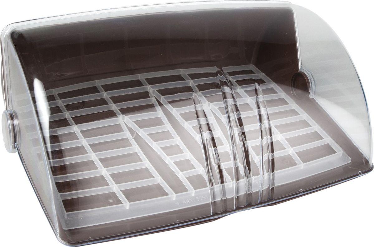 Прозрачная откидывающаяся назад крышка. Прочный выполненный из специального пластика корпус, внутренний поддон, полиэтиленовые подшипники, обеспечивающие плавное открывание - закрывание.