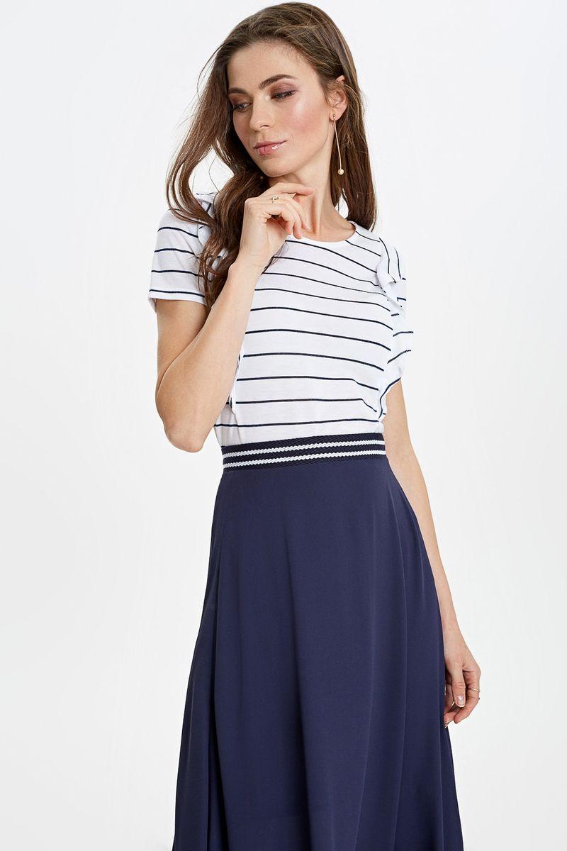 Блузка женская Concept Club, цвет: белый. 10200110309_200. Размер XL (50) блузка женская concept club diany цвет белый 10200270181 200 размер xl 50