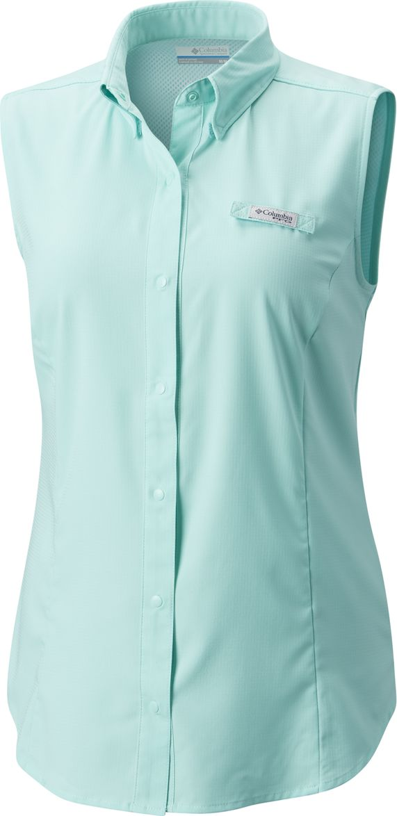 Рубашка женская Columbia Tamiami W SS, цвет: мятный. 1547181-957. Размер XS (42) женская рубашка european and american big c002617 2015