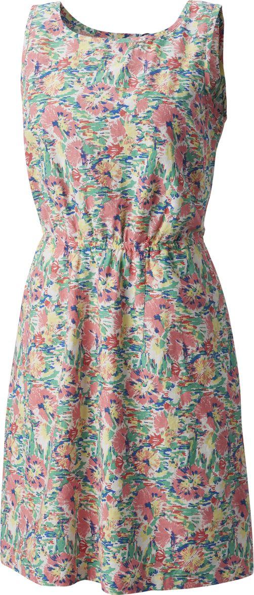 Платье Columbia Harborside Linen Dress, цвет: мультиколор. 1766201-675. Размер S (44) платье columbia harborside woven sleeveless dress цвет синий розовый 1709571 485 размер m 46