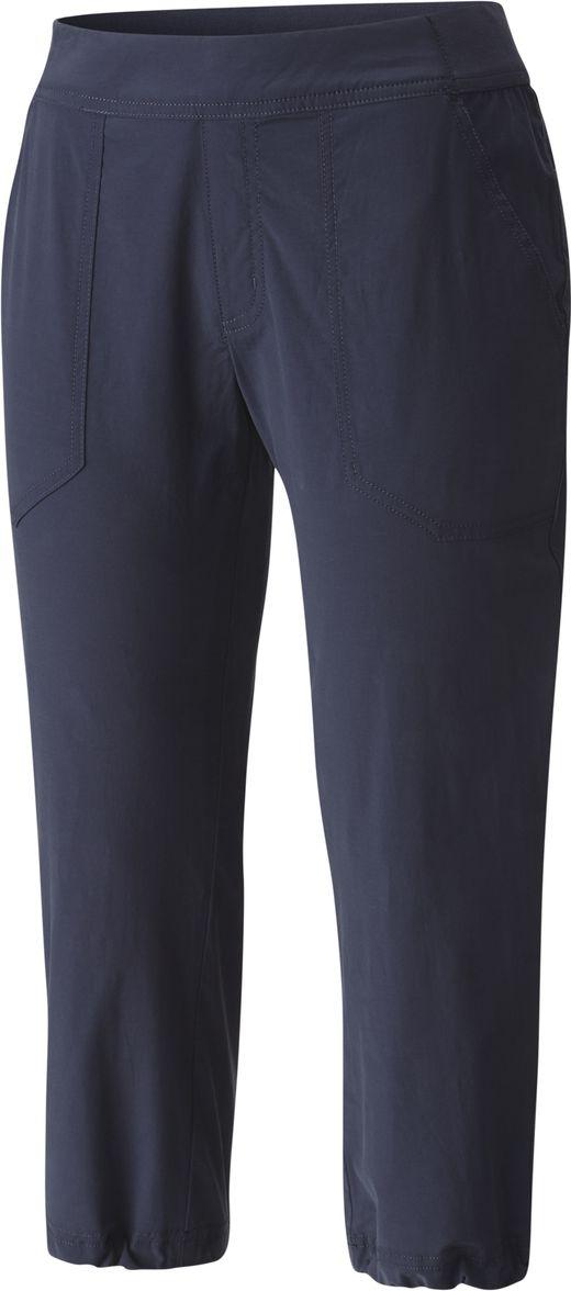 Купить Капри женские Columbia Walkabout Capri, цвет: темно-синий. 1768331-591. Размер XS (42)