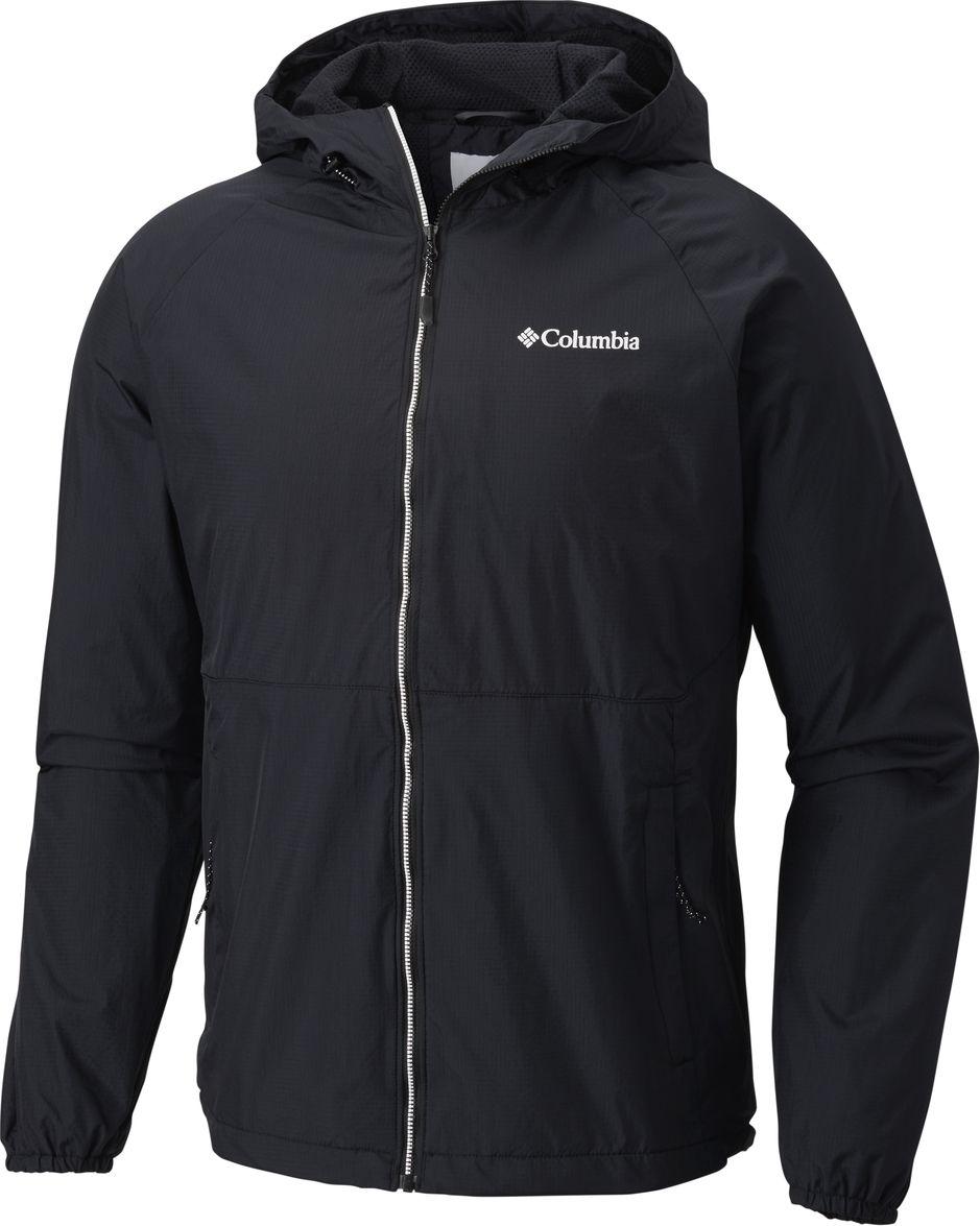 Ветровка мужская Columbia Spire Heights Jacket, цвет: черный. 1773861-010. Размер XXL (56/58) чемодан columbia lu9381 010 2399