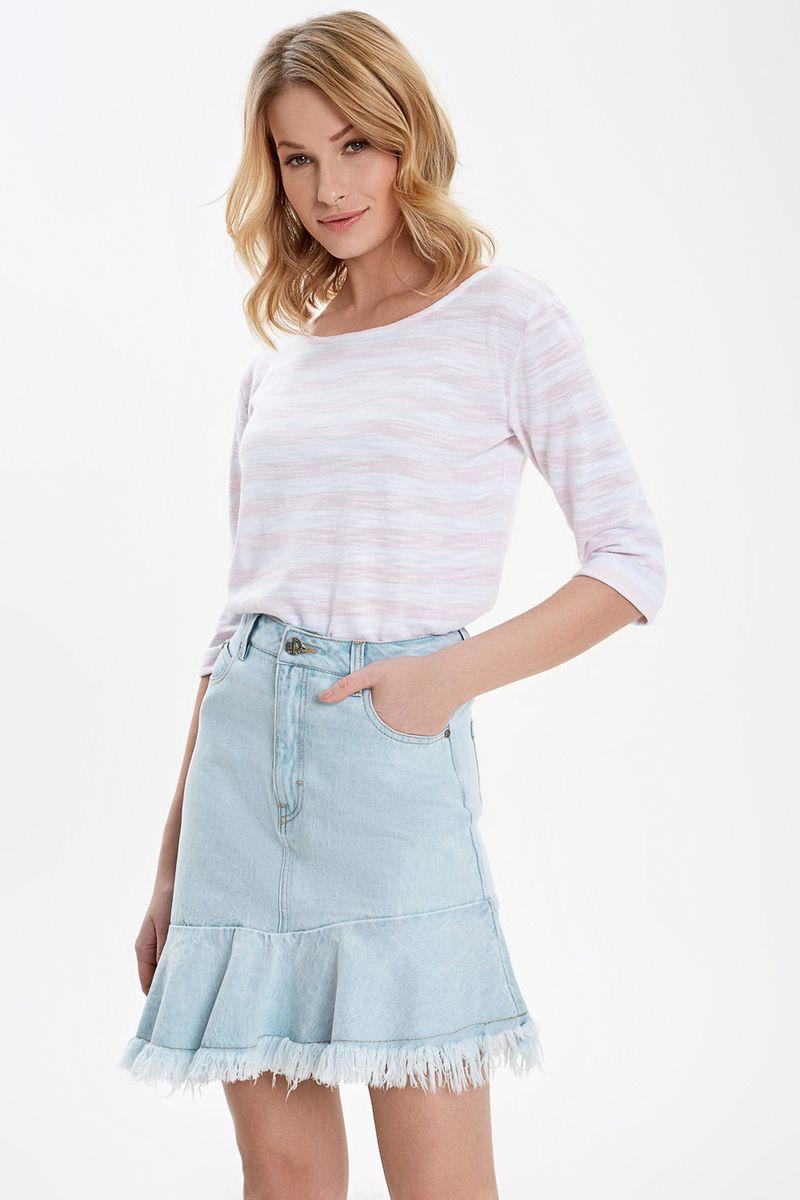 Купить Джемпер женский Concept Club, цвет: белый, розовый. 10200100195_1400. Размер M (46)