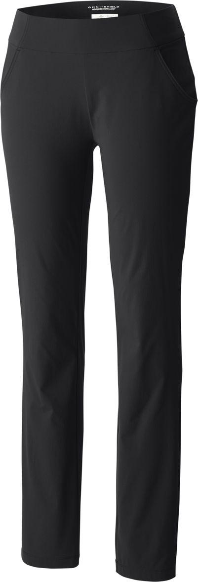 Купить Брюки женские Columbia Anytime Casual Pull On Pant, цвет: черный. 1756431-010. Размер M (46)