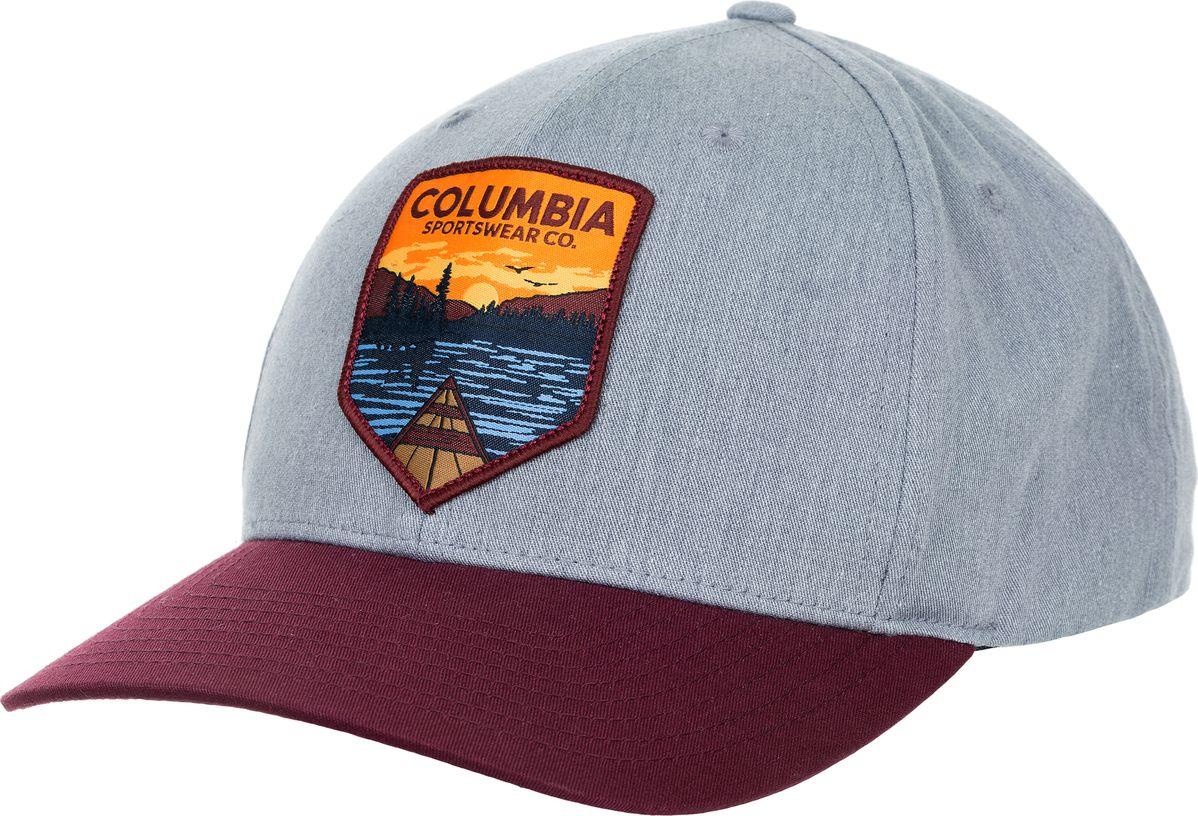 Купить Бейсболка Columbia Trail Essential Snap Back, цвет: бордовый. 1766571-031. Размер универсальный