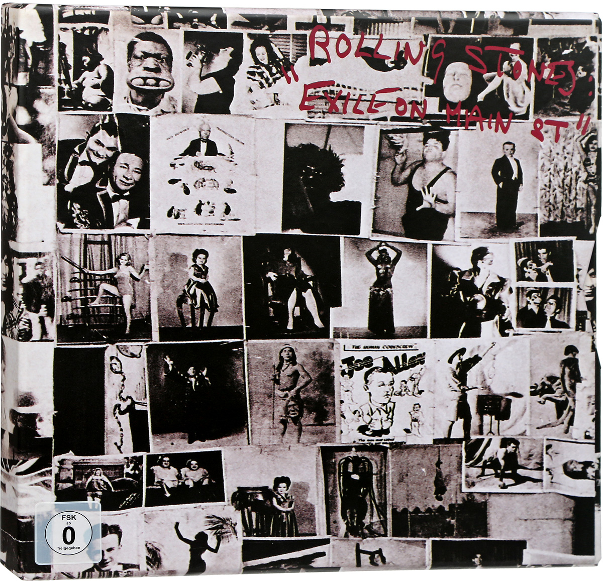 The Rolling Stones The Rolling Stones. Exile on Main Street (2 CD + 2 LP + DVD) брелок the rolling stones main street