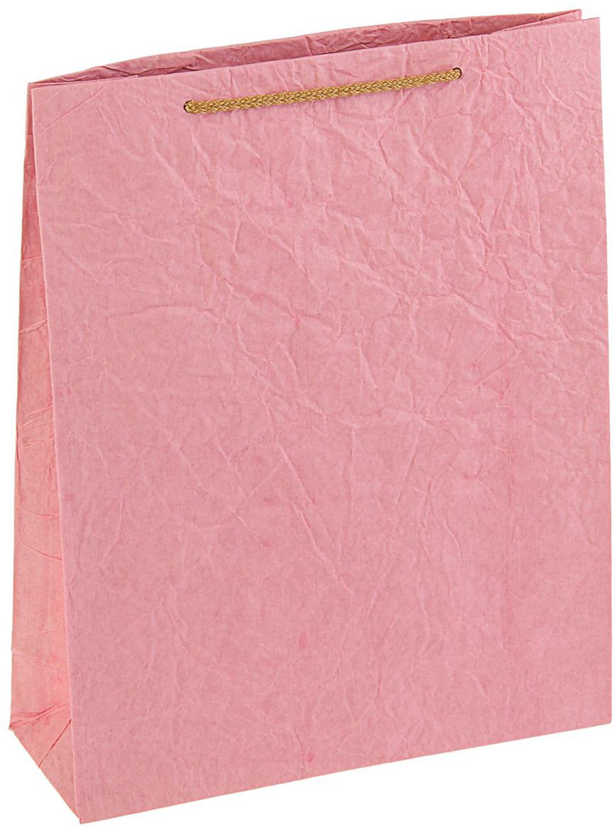 Пакет подарочный Дизайнерский, цвет: розовый, 31 х 25 х 9 см. 27280822728082Любой подарок начинается с упаковки. Что может быть трогательнее и волшебнее, чем ритуал разворачивания полученного презента. И именно оригинальная, со вкусом выбранная упаковка выделит ваш подарок из массы других. Она продемонстрирует самые теплые чувства к виновнику торжества и создаст сказочную атмосферу праздника - это то, что вы искали.