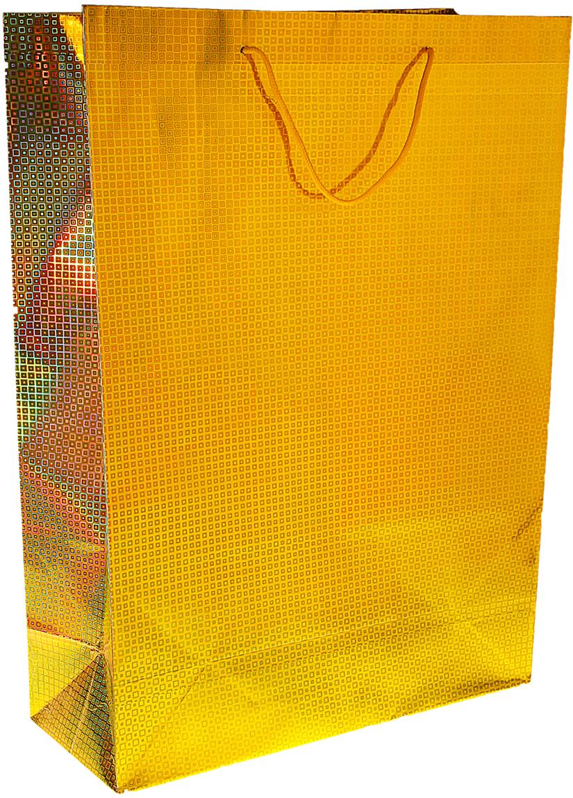 Пакет голографический - самый удобный и практичный способ оформления подарков: сначала он радует глаз в момент вручения сюрприза, а потом его можно использовать для хранения различных мелочей. Дно изделия укреплено плотным картоном, который позволяет пакету сохранять форму и исключает возможность деформации дна под тяжестью презента. Изделие изготовлено из глянцевой бумаги с офсетной печатью, обладает блеском и создаёт приятные тактильные ощущения. Для удобной переноски на пакете имеются две ручки из шнурков.