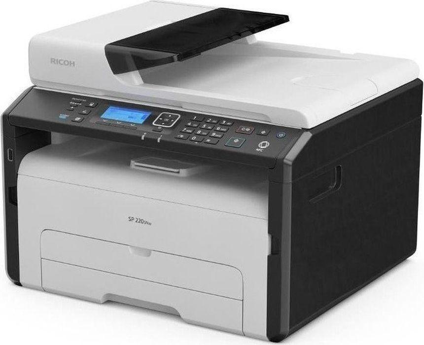 Ricoh SP 220SFNw МФУ мфу ricoh sp 150suw копир принтер сканер wi fi 22стр мин 600x600dpi a4