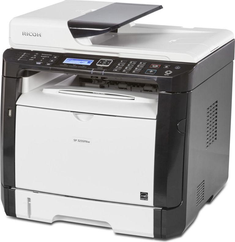 Ricoh SP 325SNw МФУ мфу ricoh sp 150suw копир принтер сканер wi fi 22стр мин 600x600dpi a4