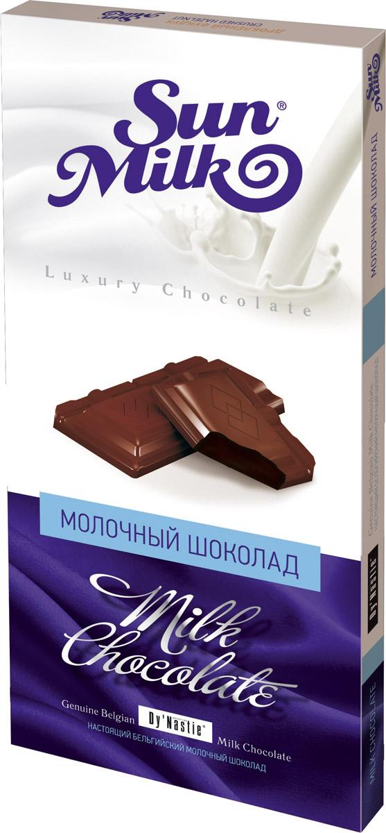 Династия Sun Milk молочный шоколад, 100 г