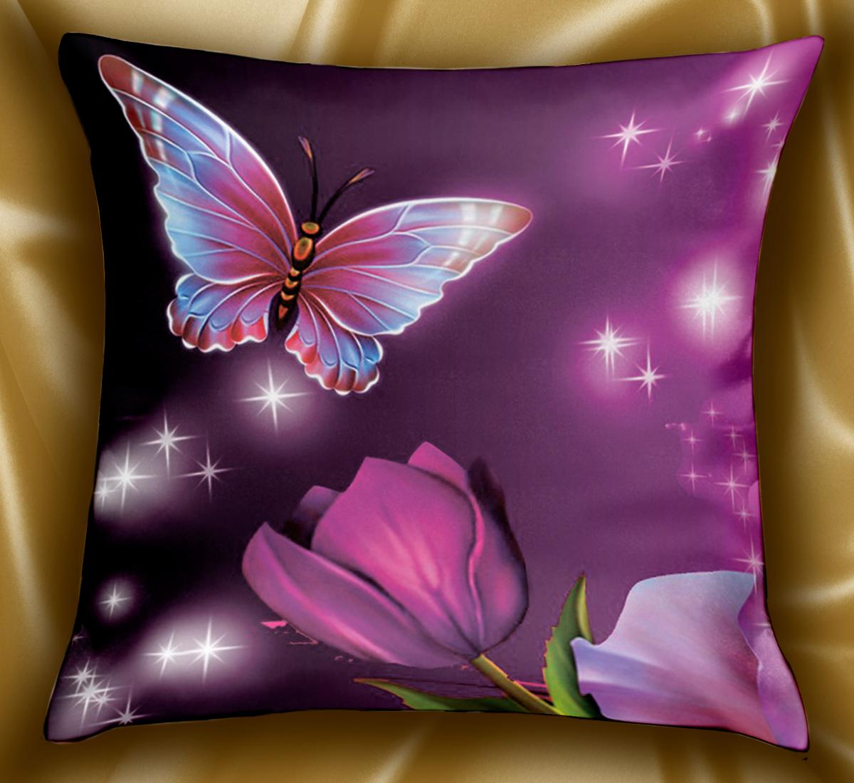 Подушка декоративная МарТекс Рамирос, цвет: черно-розовый, 45 х 45 см. 16-1239-1 конструктор arduino дерзай базовый набор 2 0 книга 978 5 9775 3756 8