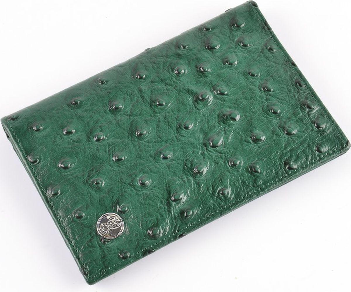 Обложка на паспорт женская Topo Fortunato Страус, цвет: зеленый. 1274-093 набор нахлыстовый redington topo fly fishing outfit