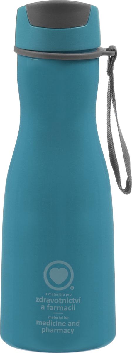 Бутылка для напитков Tescoma Purity, цвет: синий, 700 мл