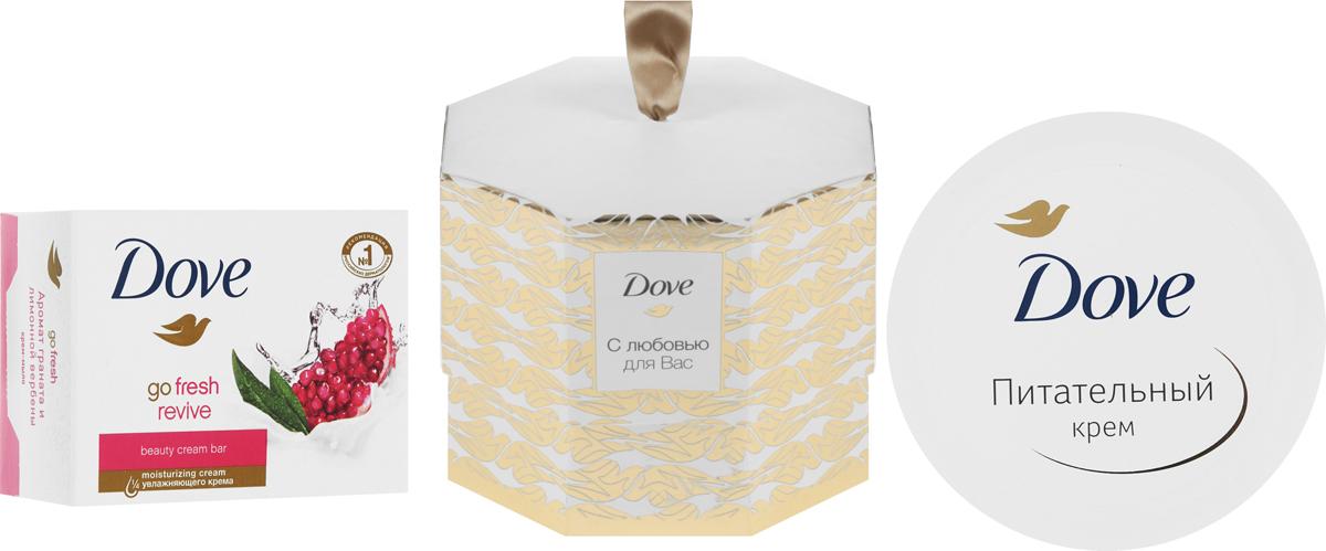 Подарочный набор Dove с любовью для Вас ahava питательный крем для тела dermud deadsea mud 200 мл питательный крем для тела dermud deadsea mud 200 мл 200 мл