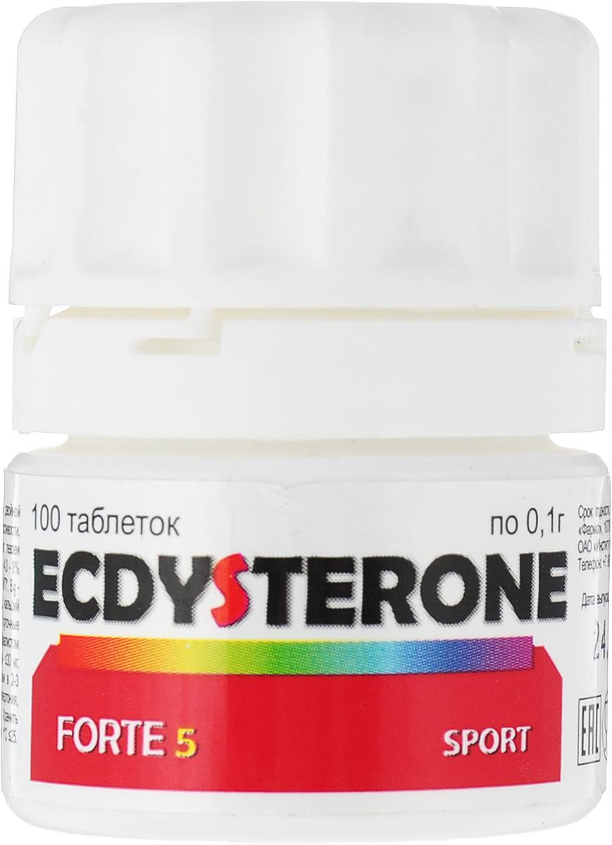 Специализированный продукт для питания спортсменов под наблюдением спортивного врача. Рекомендации по применению: по 1 таблетке 1 раз в день в течение 4-х недель. В спортивной практике дозировка может быть увеличена до 12 таблеток в день. Состав: экдистерон -5, генистеин - 10, Витамины: B1 - 0,23;В3 - 1,78; В6 - 0,5; С-5,18; PP-4,42, лактоза-32,0; вспомогательные вещества.    Как повысить эффективность тренировок с помощью спортивного питания? Статья OZON Гид